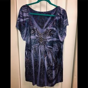 Tops - Size 3X Peasant Top
